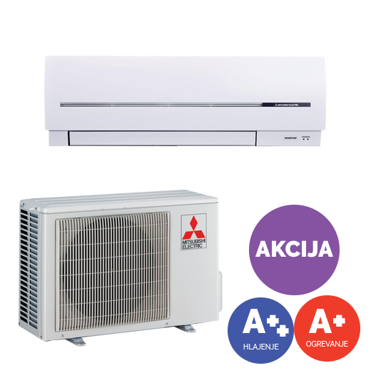 Akcijska cena za klimo Mitsubishi Electric SF25VE..