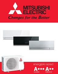 Kirigamine zen klimatska naprava EF35VE v beli, srebrni ali črni barvi