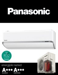 Panasonic Heatcharge klimatska naprava KIT-VZ12-SKE