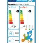Panasonic Energetska nalepka za klimo CS-VZ9SKE