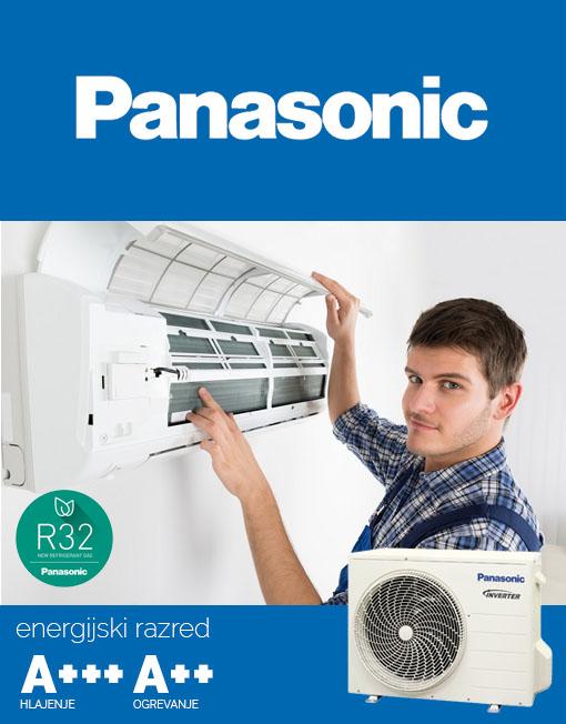 Ugodna montaža klime KIT-S12SKEM Panasonic