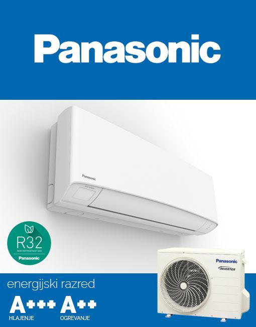 Panasonic KIT-Z12SKEM klimatska naprava , R32 plin, inverter