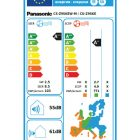 Panasonic Energetska nalepka za klimo CS-Z9SKEW-M