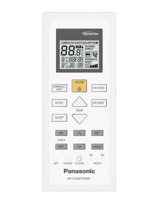 Daljinski upravljalnik za klimo Panasonic CS-TZ12SKEW.