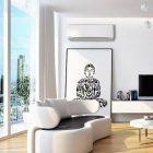 Klimatska naprava KIT-TZ12SKEW je idealna za klimatizacijo manjših prostorov.