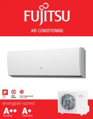 Fujitsu ASYG07LUCA / AOYG07LUCA klimatska naprava, A++ hlajenje