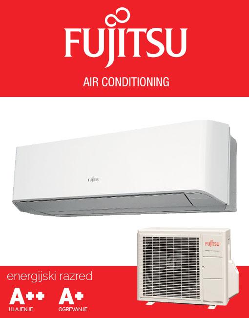 Fujitsu ASYG12LMCE AOYG12LMCE klimatska naprava, A++ hlajenje
