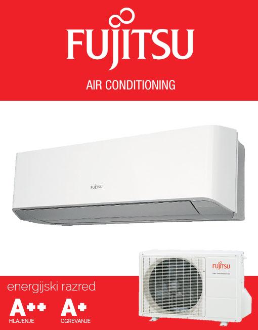 Fujitsu ASYG14LMCE AOYG14LMCE klimatska naprava, A++ hlajenje