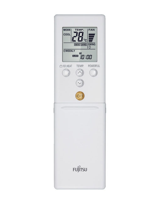 Daljinski upravljalnik za klimo Fujitsu ASYG14LUCA