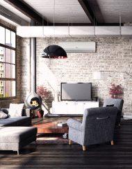Gree Hansol GWH09TB-S3DNA1D klima za dom in pisarno.