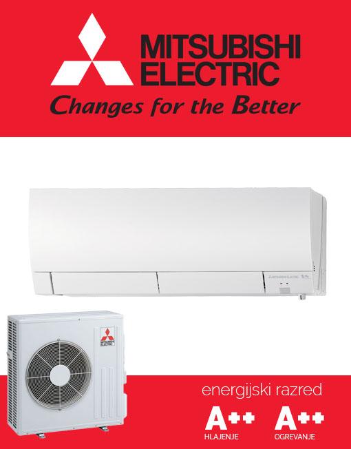 Mitsubishi Electric MSZ-FH50VE, MUZ-FH35VE tiha in učinkovita klimatska naprava