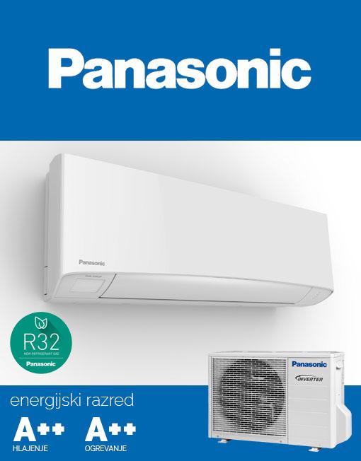 Klima Panasonic KIT-Z7SKEM z R32 hladilom