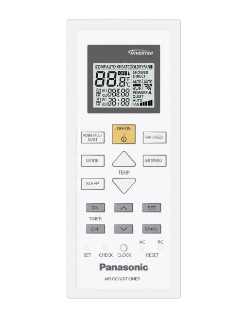 Daljinec za klimo, daljinski upravljalnik Panasonic, CS-KE25TKE