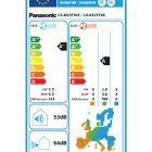 Klima Panasonic KIT-KE25TKE Energetska Nalepka