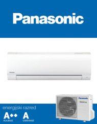 Panasonic STANDARD INVERTER, Gretje do -15°C, Hlajenje do +5°C, R410A