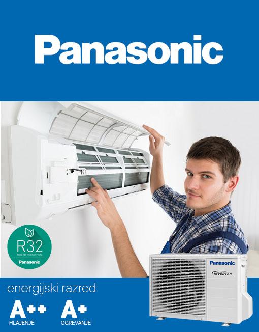 Klima z montažo, montaža klimatske naprave Panasonic