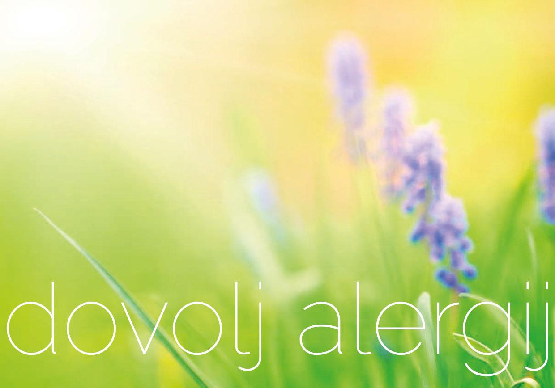 Brez skrbi v sezono alergij