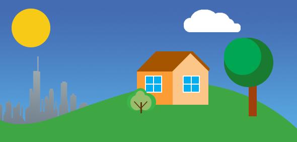 Hlajenje brez zunanje enote - sončna aktivnost in njen vpliv na okolje je glavni vir segrevanja hiš