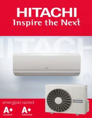 Hitachi klimatska naprava Eco Comfort moči 3,5kW