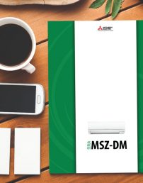 Letak klimatskih naprav Mitsubishi Electric DM Standard Inverter