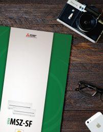 Letak klimatskih naprav Mitsubishi Electric SF Standard Inverter