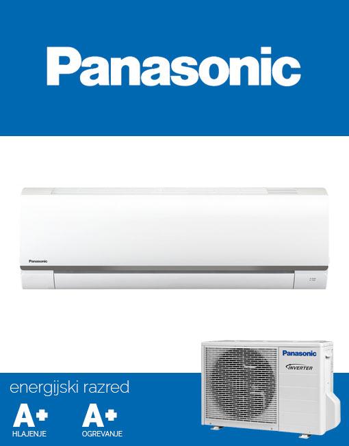 Panasonic CS/CU-BE35TKE klimatska naprava z brezplačno dostavo na dom