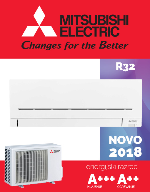 Mitsubishi Electric MUZ-AP25VG, MSZ-AP25VG klima novo 2018